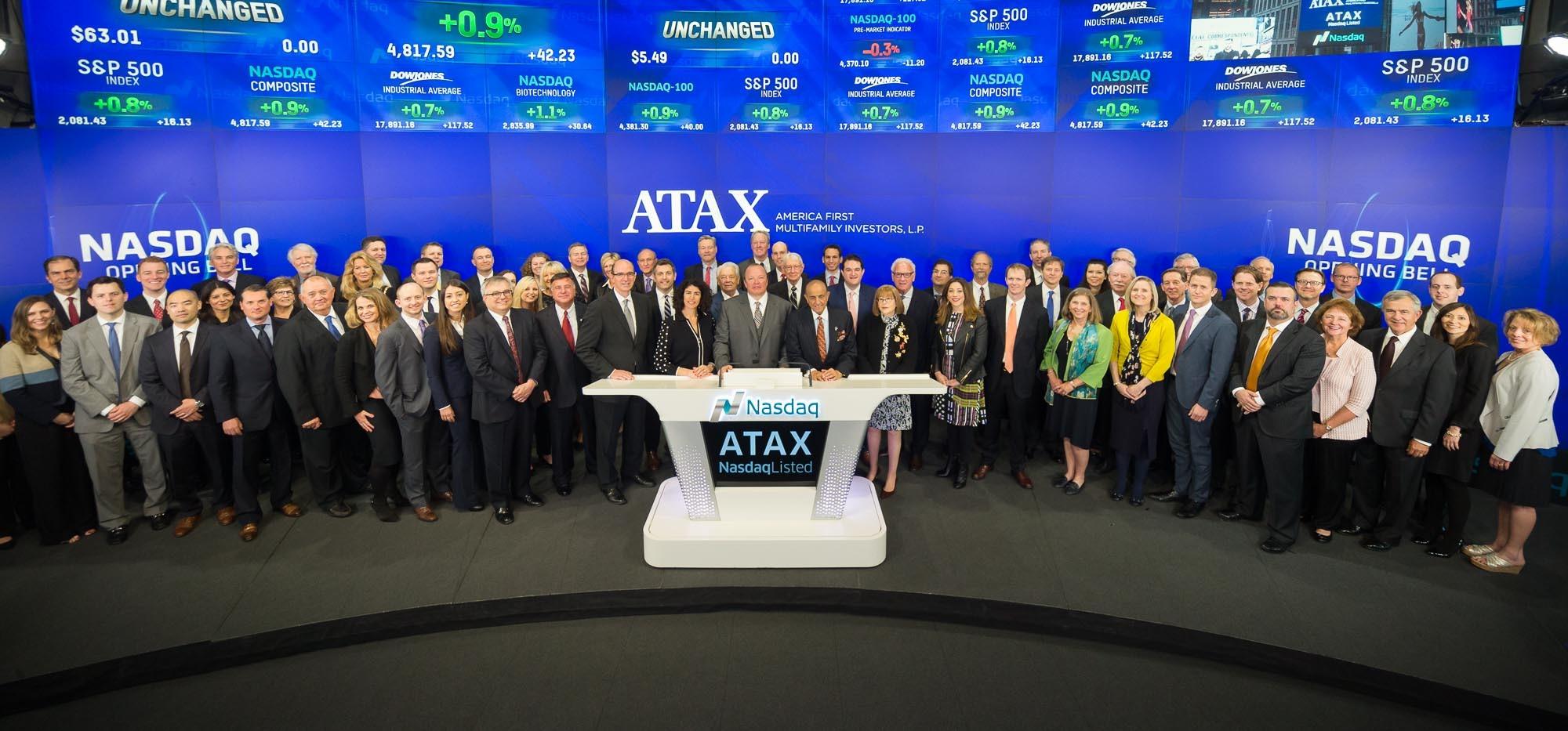 ATAX Celebrates 30 years on NASDAQ