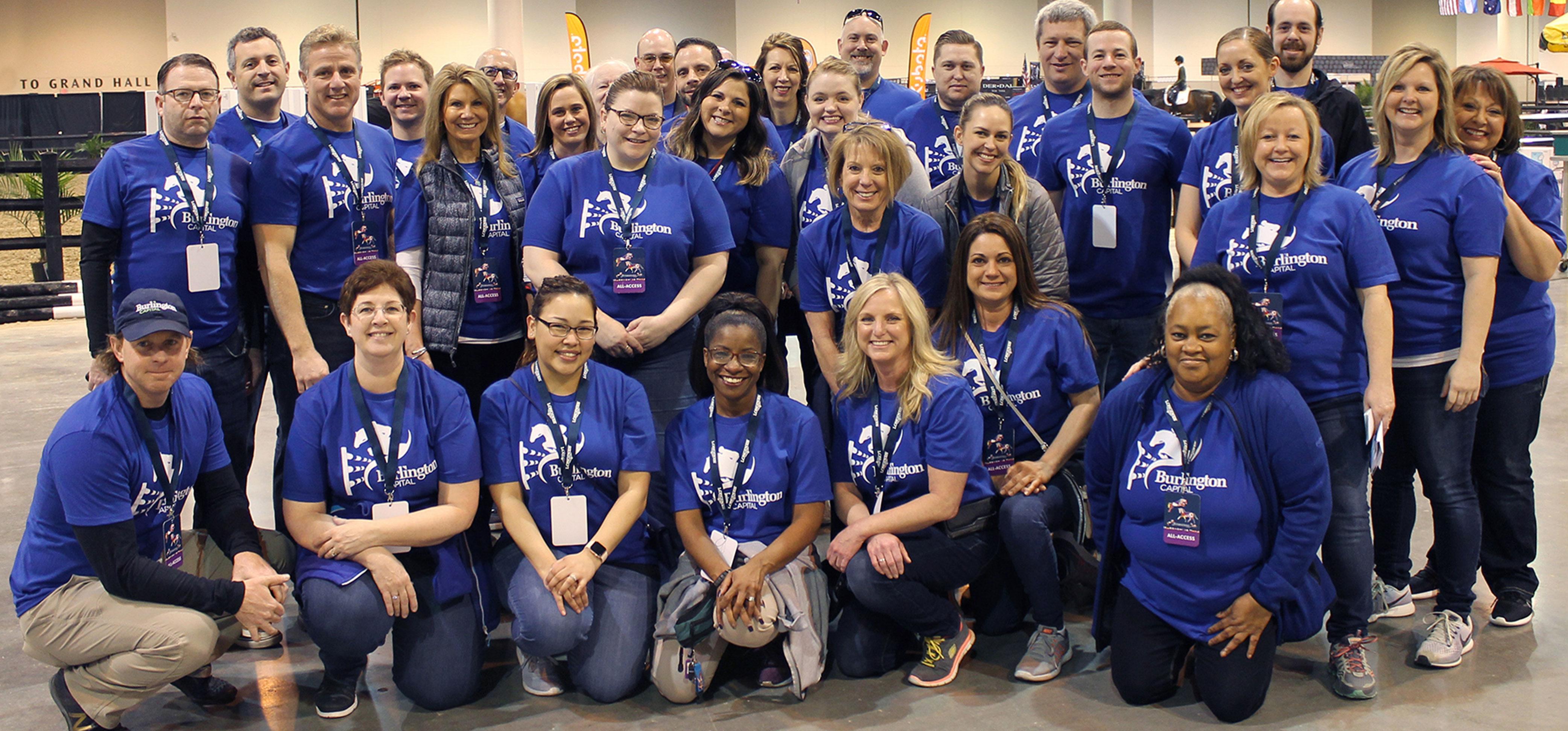 Burlington Capital LLC spends the day volunteering!
