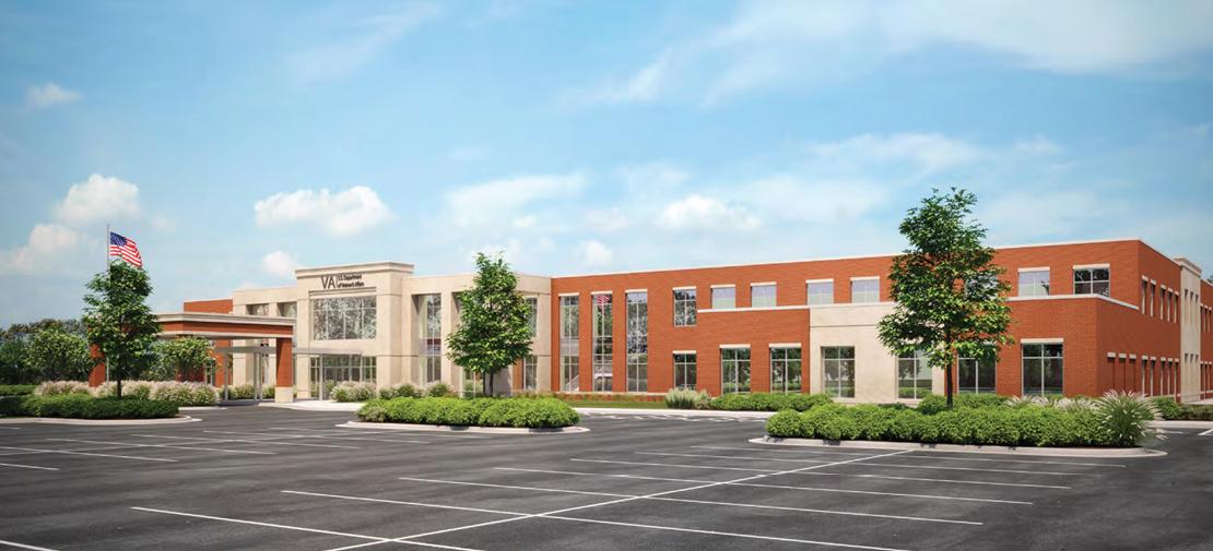 Burlington Capital and Johnson Development To Build New Lincoln, Nebraska, Department of Veterans Affairs Outpatient Clinic