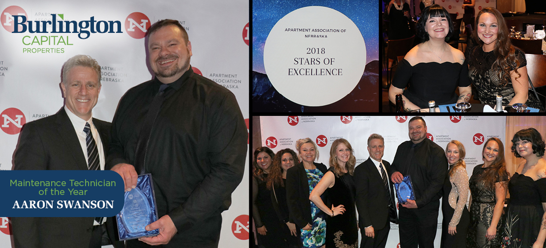Apartment Association of Nebraska 2018 Stars of Excellence