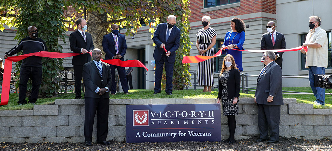 Veterans Come Home to Victory II Apartments