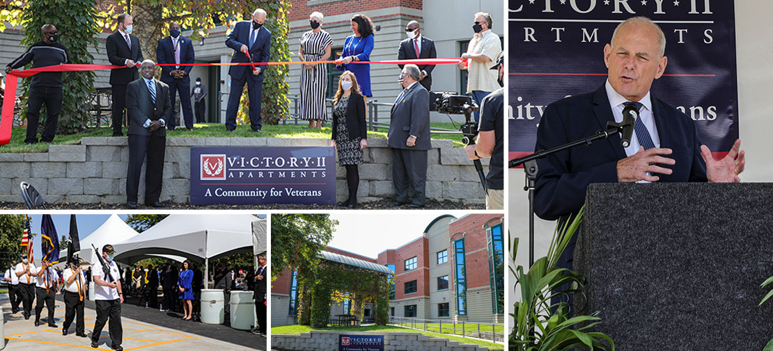 Victory II Apartments Grand Opening Ribbon Cutting