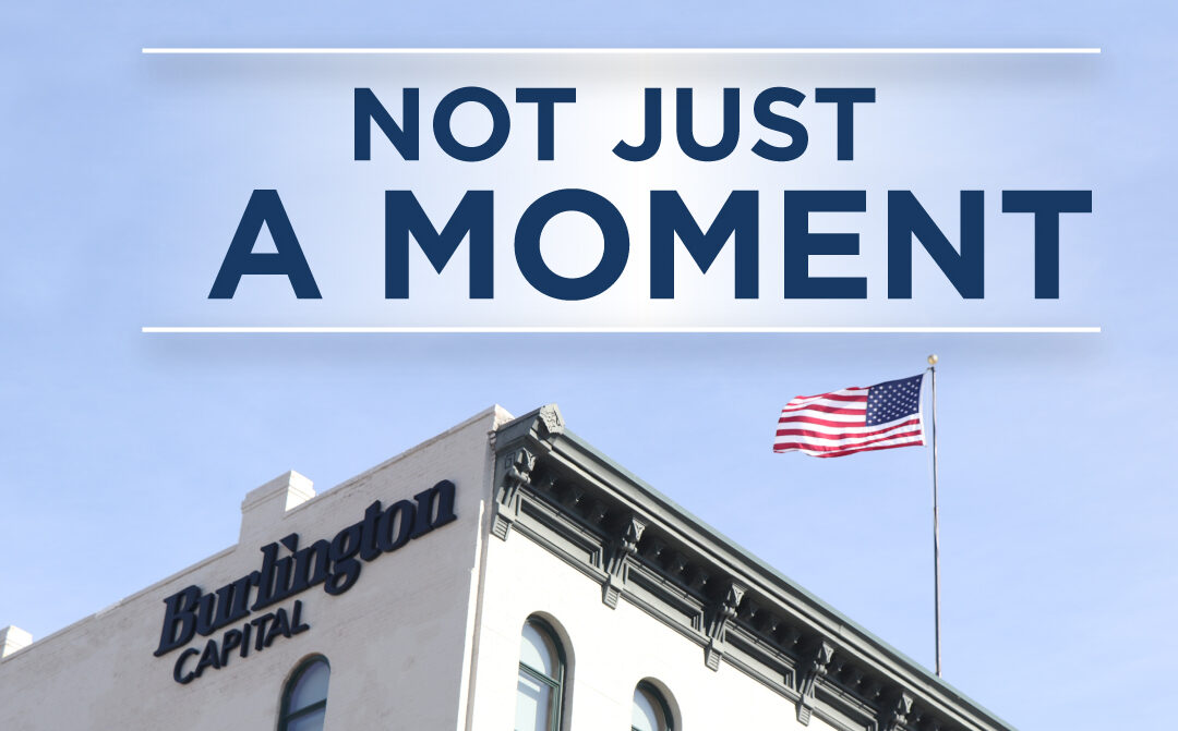 """Not Just """"A Moment"""""""